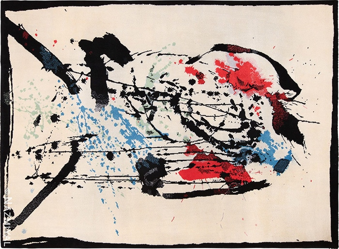 modern art rug by artist Robert Jacobsen #49670 by Nazmiyal