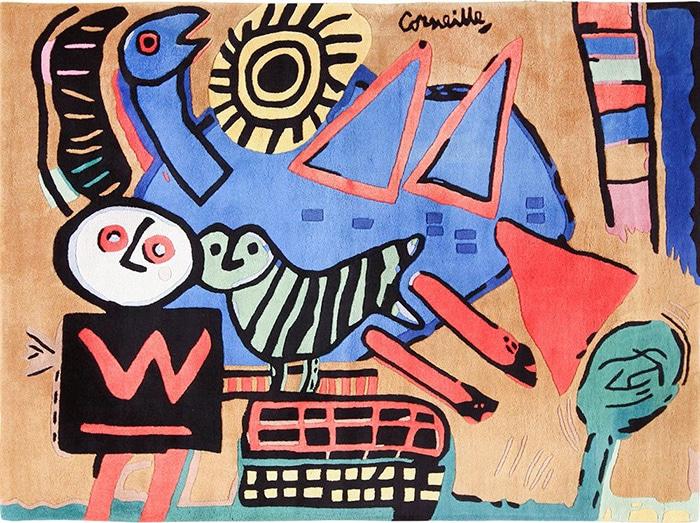 Modern Art Rugs by artist Corneille #49543 Nazmiyal