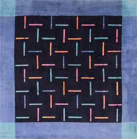 Square Modern Contemporary Ingrid Dessau Rug for Kinnasand 49682 by Nazmiyal