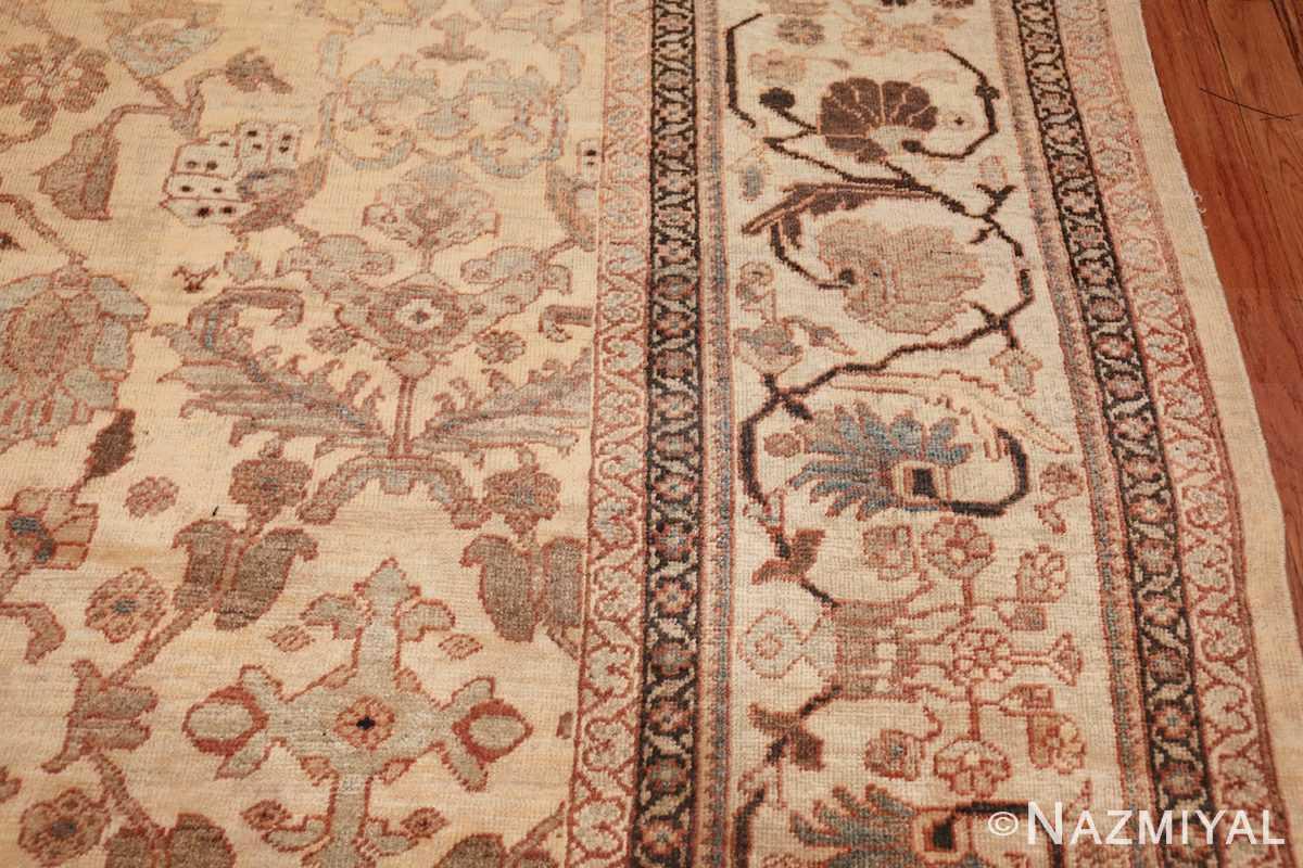 antique decorative oversized persian sultanabad rug 49675 border Nazmiyal