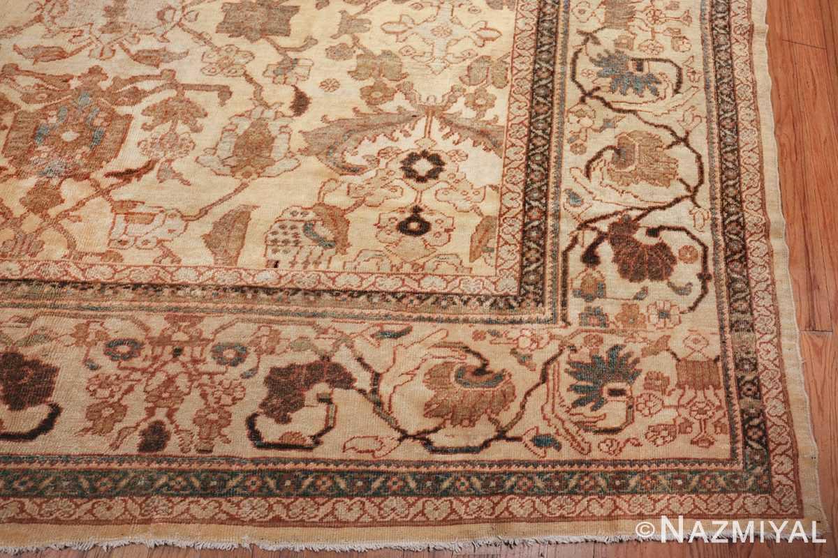 antique decorative oversized persian sultanabad rug 49675 corner Nazmiyal