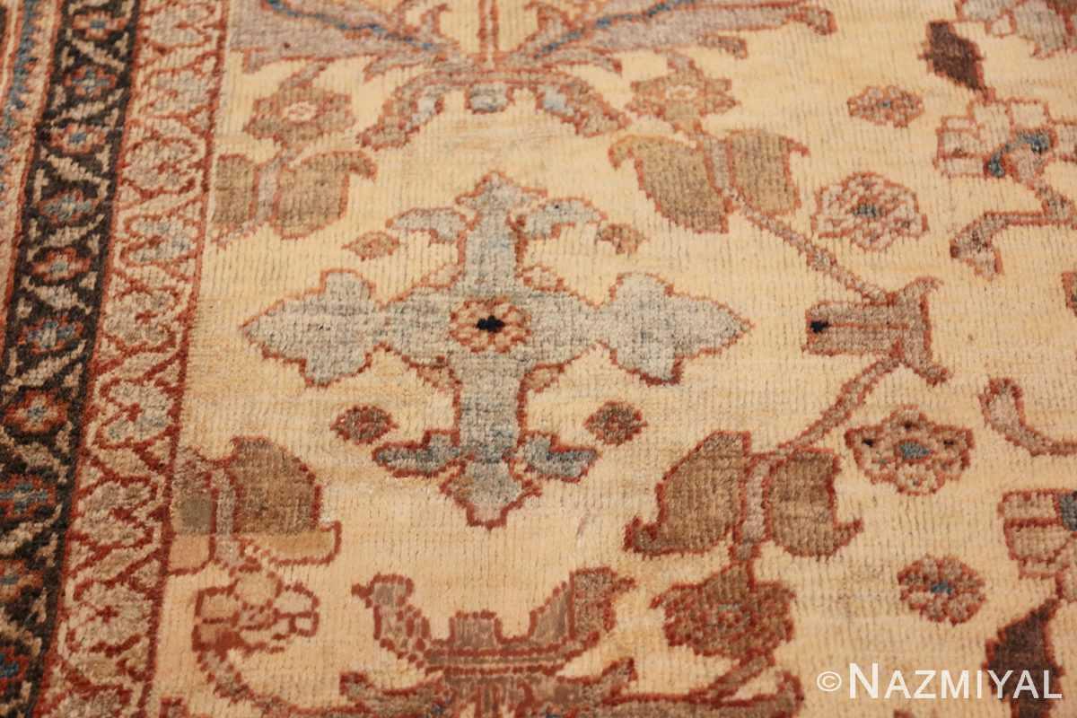 antique decorative oversized persian sultanabad rug 49675 cross Nazmiyal