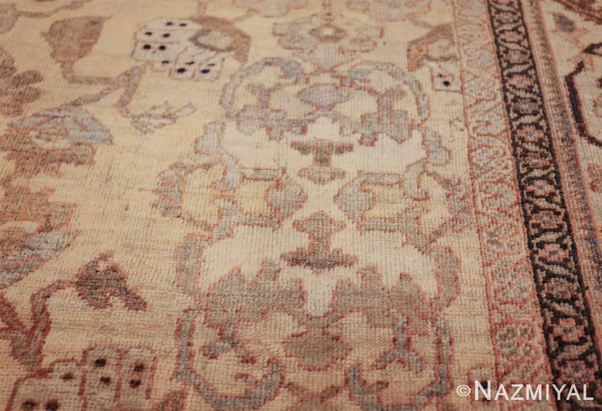 antique decorative oversized persian sultanabad rug 49675 design Nazmiyal
