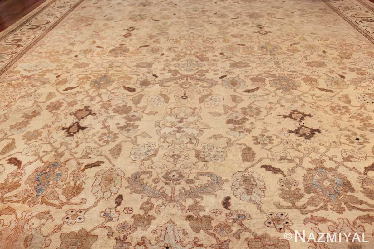 antique decorative oversized persian sultanabad rug 49675 field Nazmiyal