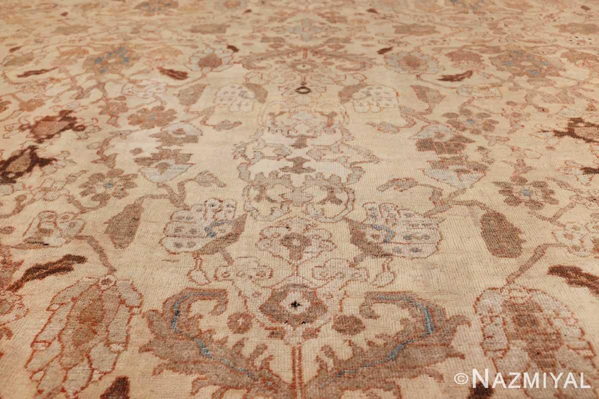 antique decorative oversized persian sultanabad rug 49675 flower Nazmiyal