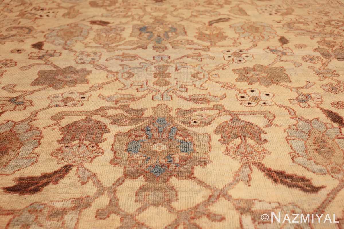 antique decorative oversized persian sultanabad rug 49675 green Nazmiyal