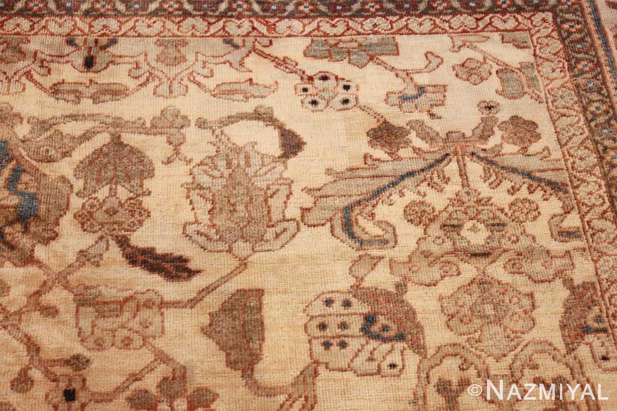 antique decorative oversized persian sultanabad rug 49675 margin Nazmiyal