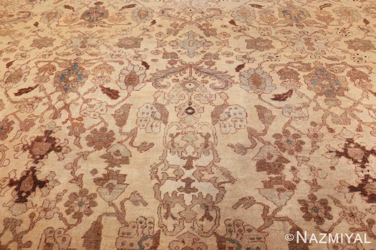 antique decorative oversized persian sultanabad rug 49675 middle Nazmiyal