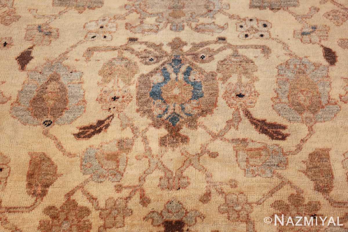 antique decorative oversized persian sultanabad rug 49675 navy Nazmiyal