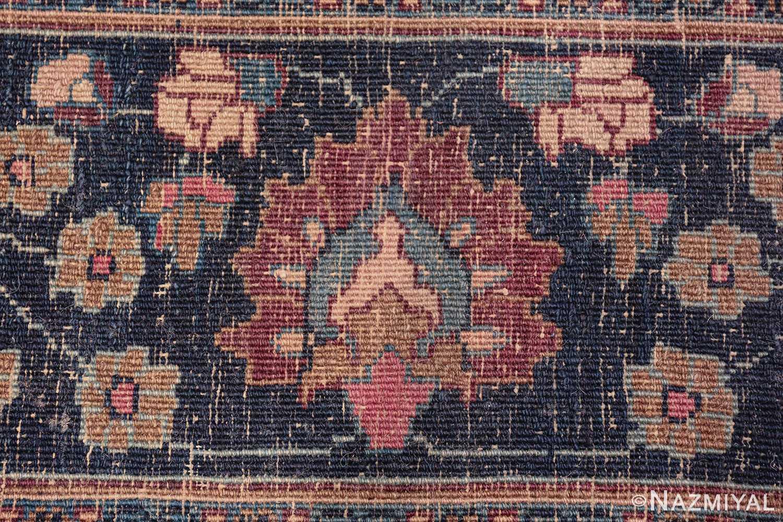 antique purple color persian khorassan rug 49686 knots Nazmiyal