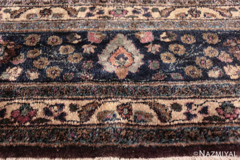 antique purple color persian khorassan rug 49686 part Nazmiyal