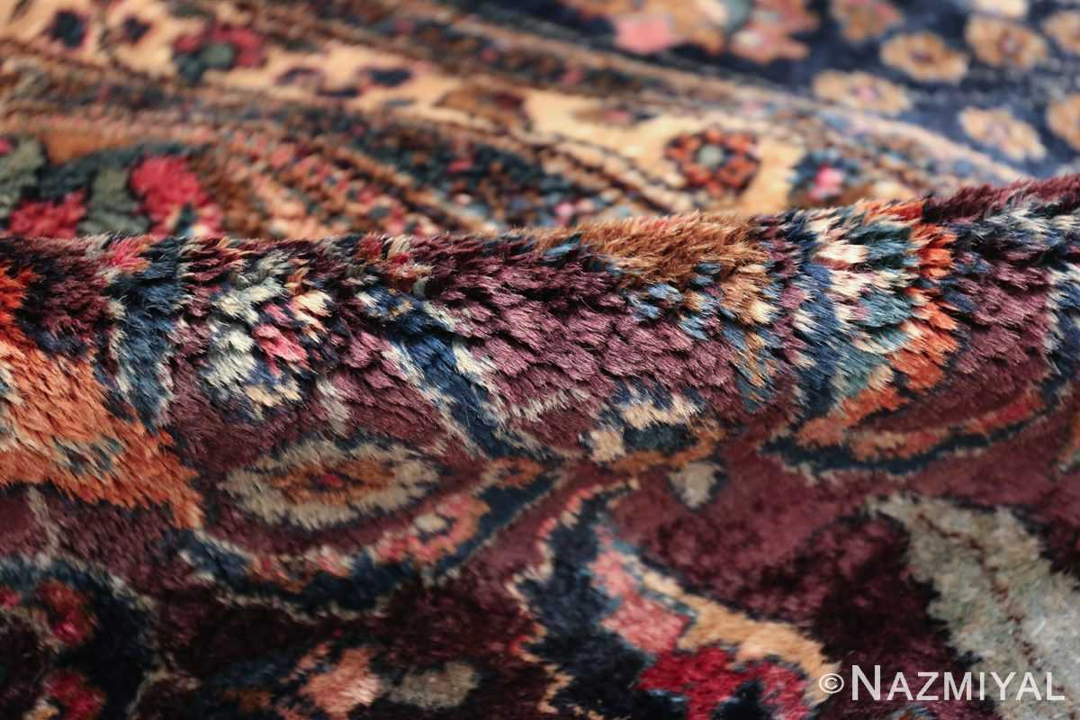 antique purple color persian khorassan rug 49686 pile Nazmiyal