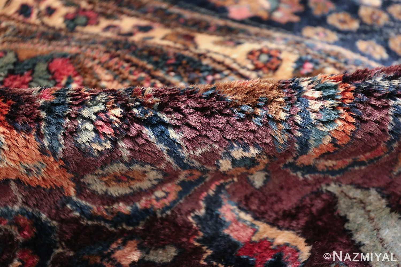 antique purple color persian khorassan rug 49686 pile Nazmiyal