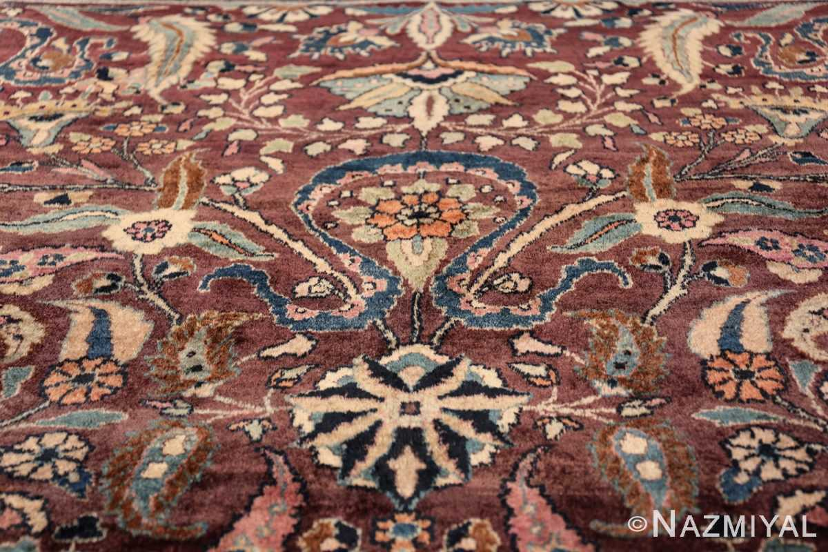 antique purple color persian khorassan rug 49686 top Nazmiyal