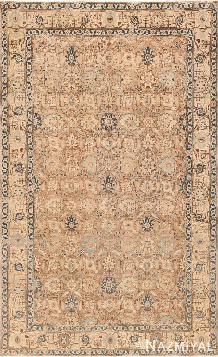 antique room size tabriz persian rug 49666 Nazmiyal