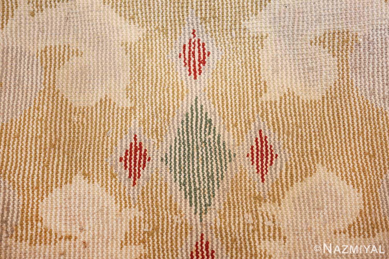 antique round french art deco rug by leleu 49693 knots Nazmiyal