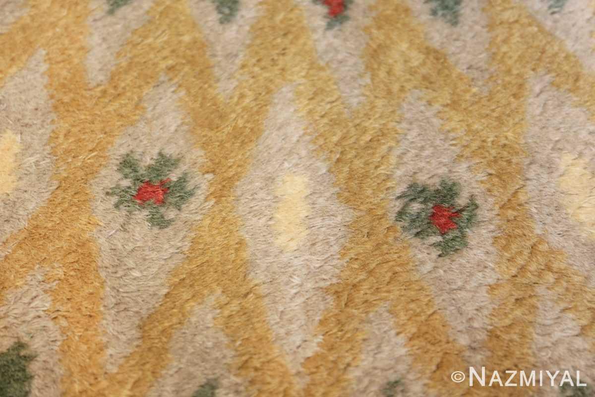 antique round french art deco rug by leleu 49693 trio Nazmiyal