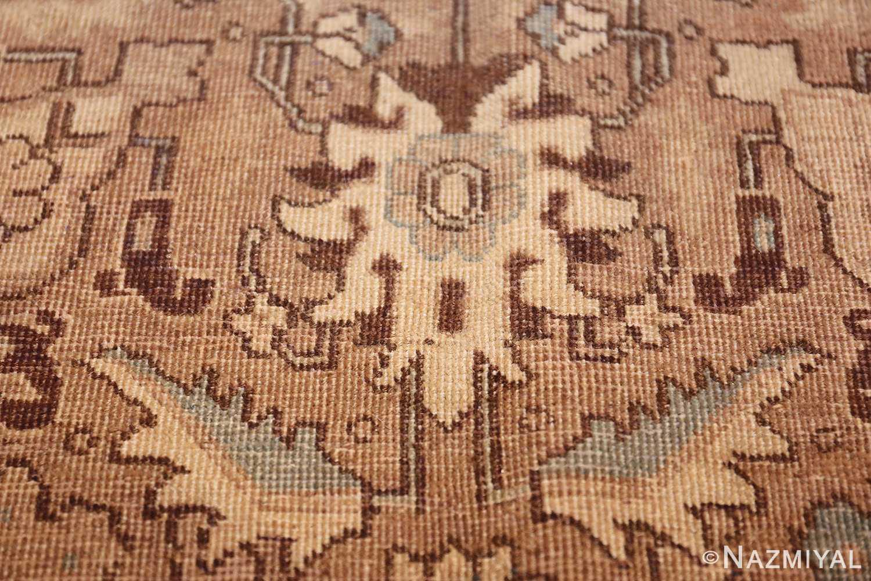 decorative neutral antique room size persian tabriz rug 49666 dark Nazmiyal