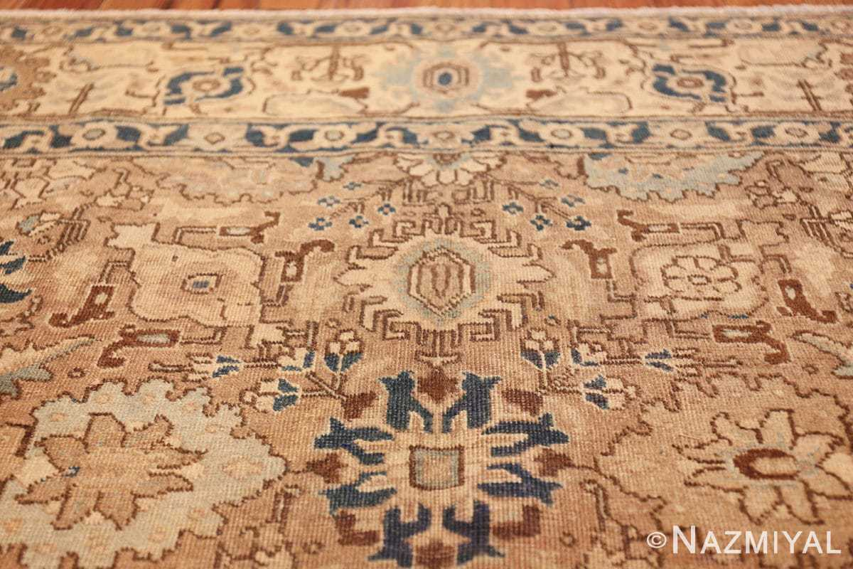 decorative neutral antique room size persian tabriz rug 49666 top Nazmiyal
