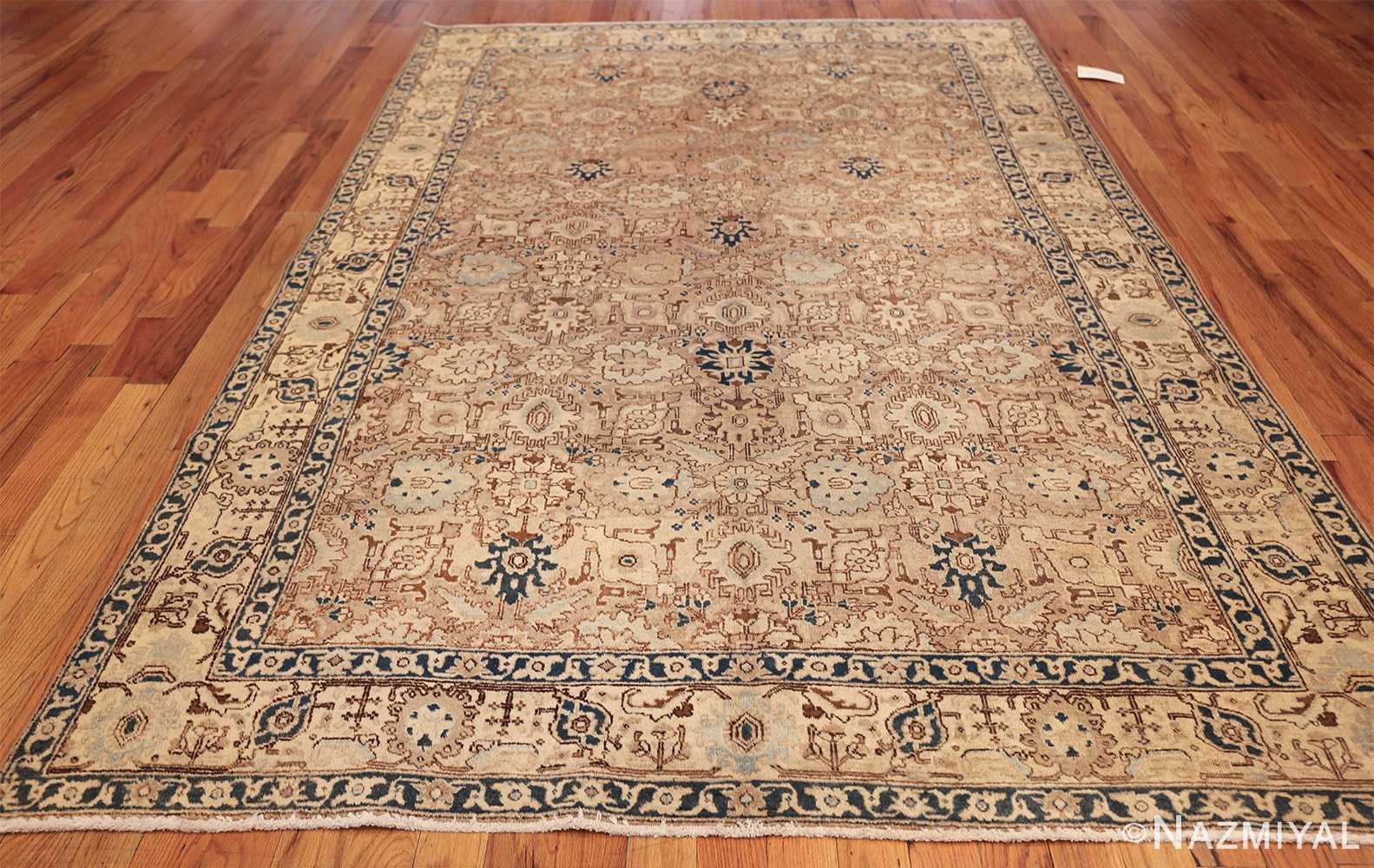 decorative neutral antique room size persian tabriz rug 49666 whole Nazmiyal