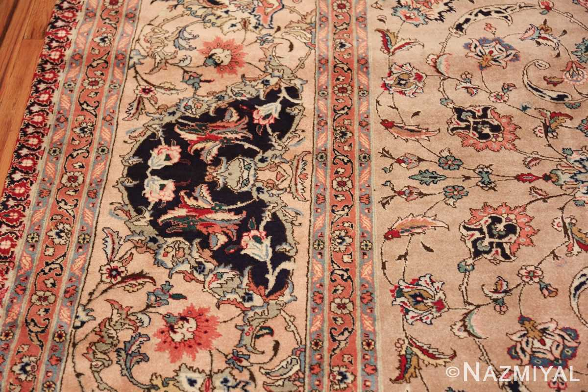 fine large vintage tabriz persian rug 60011 border Nazmiyal