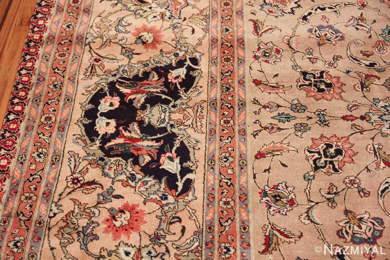 fine large vintage tabriz persian rug 60011 border Nazmiyal