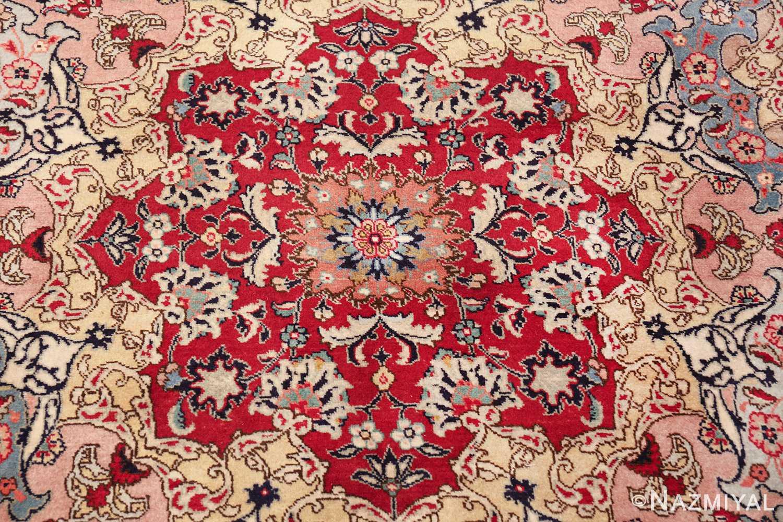 fine large vintage tabriz persian rug 60011 center Nazmiyal