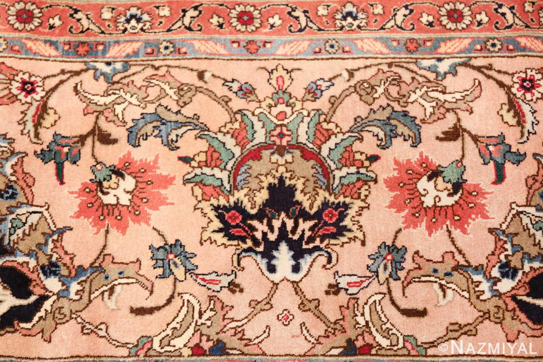 fine large vintage tabriz persian rug 60011 closeup Nazmiyal