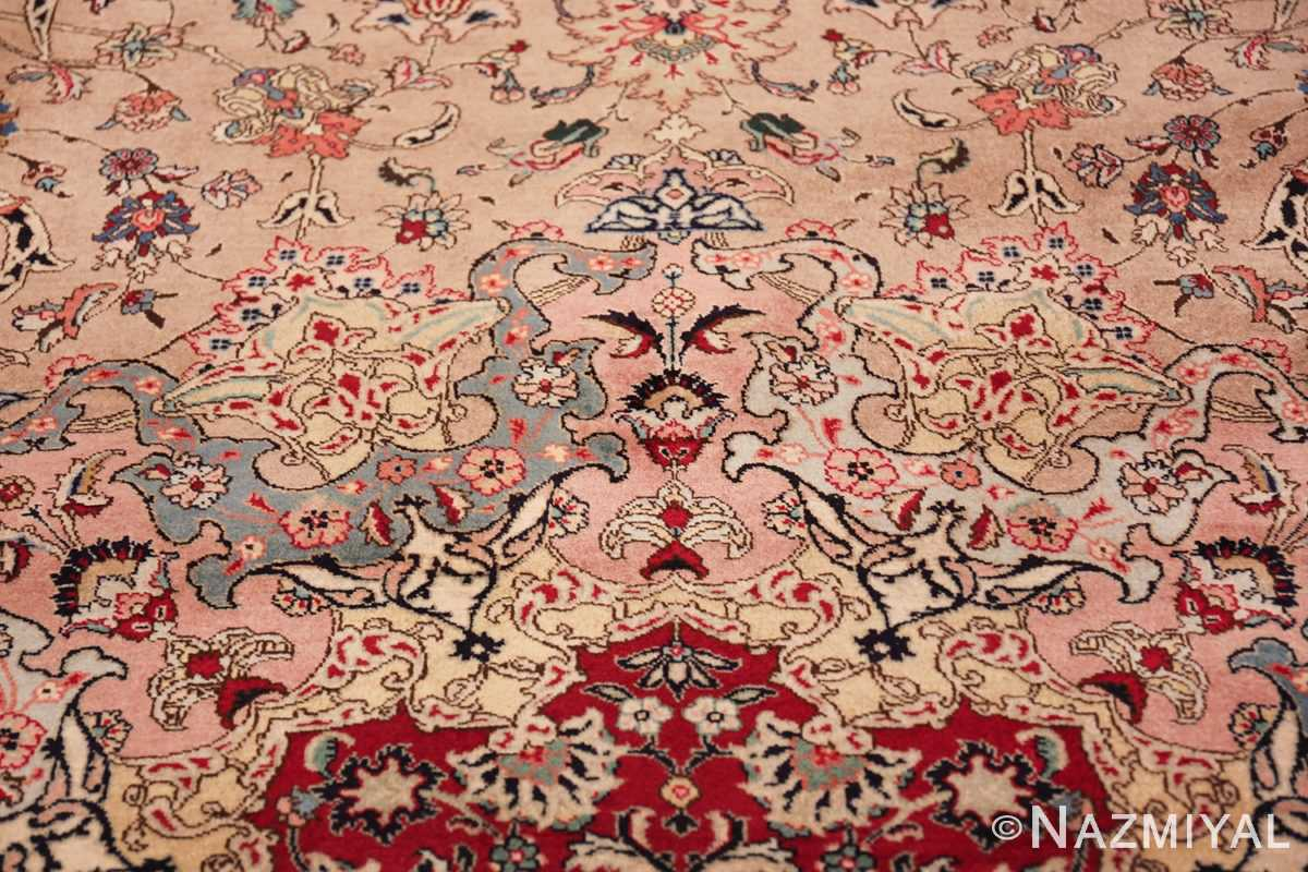 fine large vintage tabriz persian rug 60011 colors Nazmiyal