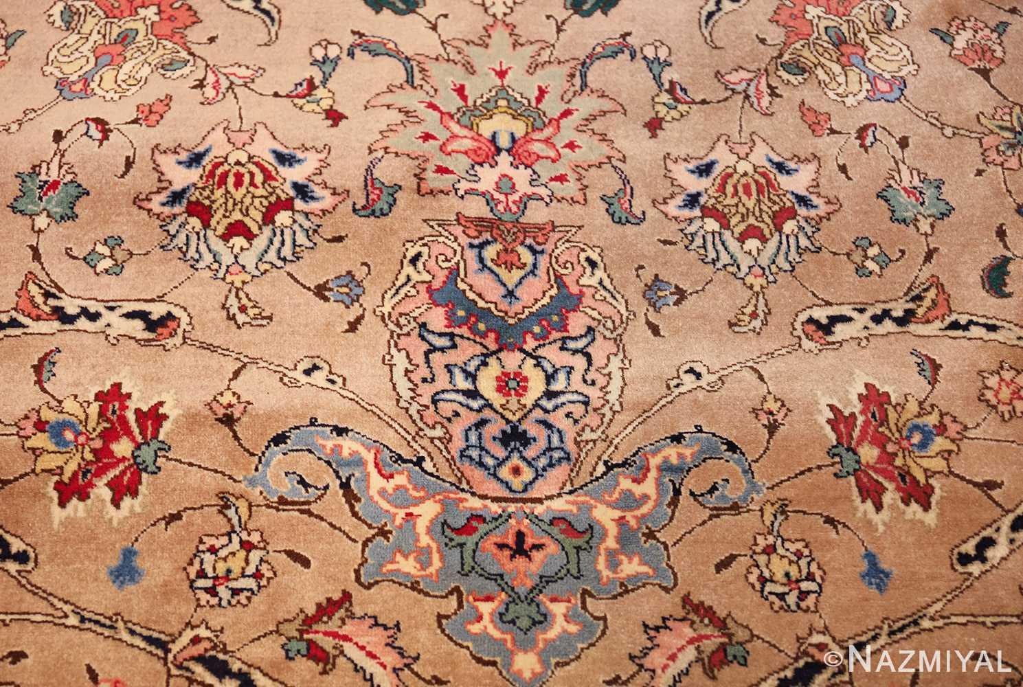 fine large vintage tabriz persian rug 60011 design Nazmiyal
