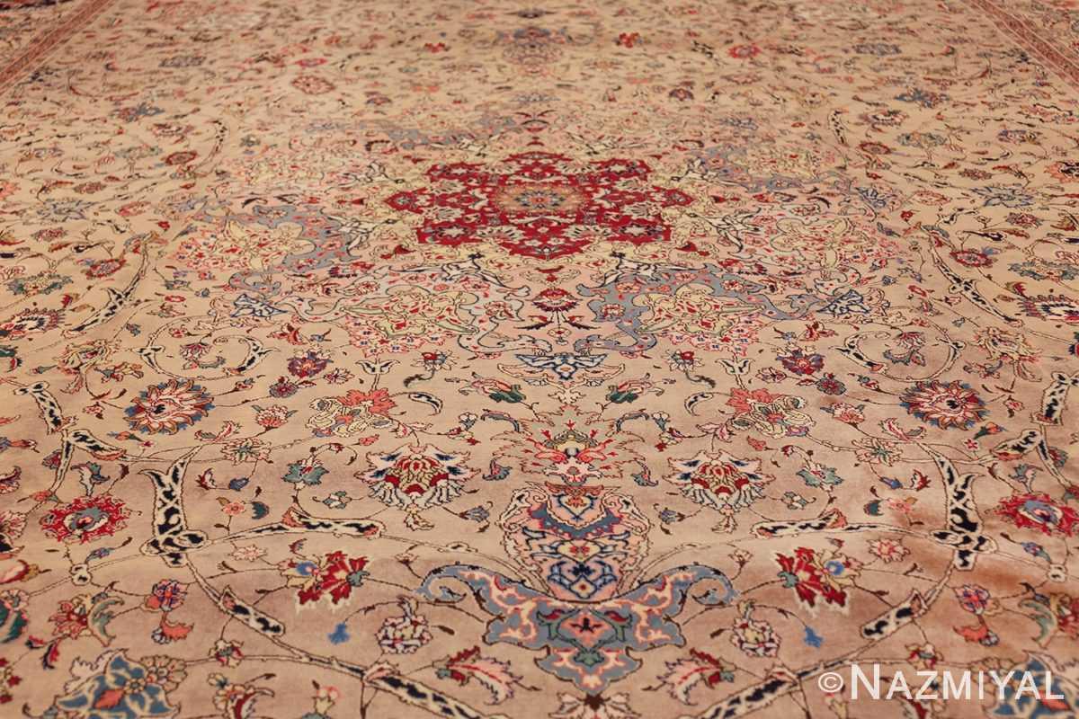 fine large vintage tabriz persian rug 60011 field Nazmiyal
