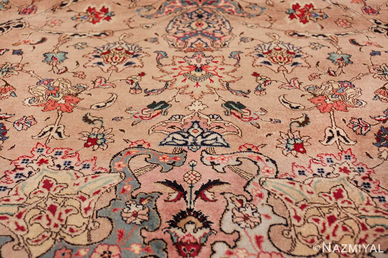 fine large vintage tabriz persian rug 60011 flowers Nazmiyal
