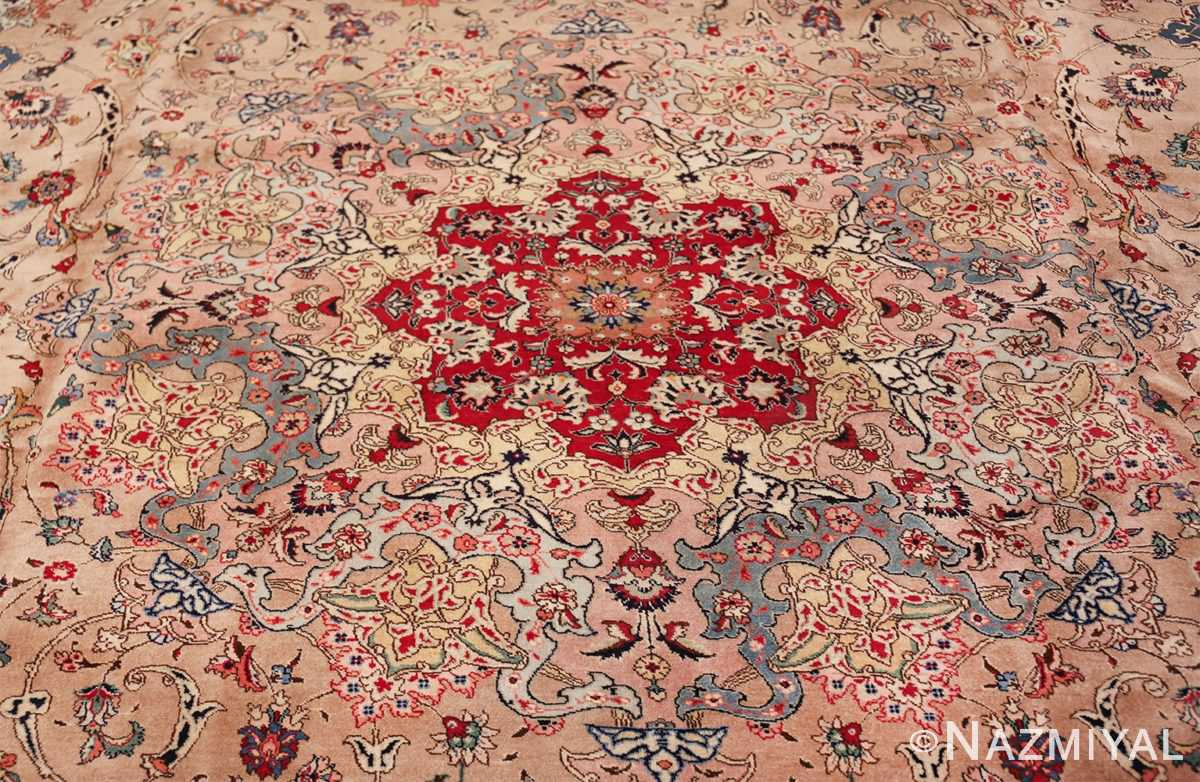 fine large vintage tabriz persian rug 60011 medallion Nazmiyal