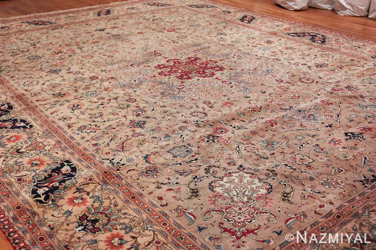 fine large vintage tabriz persian rug 60011 side Nazmiyal