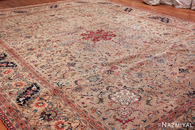 Fine Large Vintage Tabriz Persian Rug 60011 Side Nazmiyal