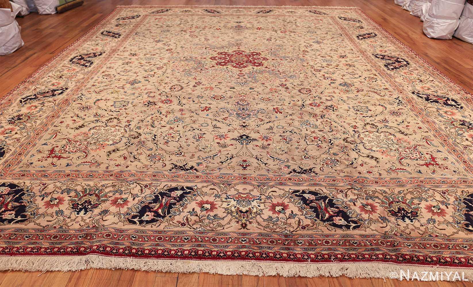 Fine Decorative Large Vintage Persian Tabriz Rug 60011