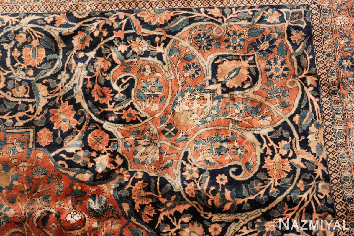 large antique persian mohtasham kashan rug 60038 design Nazmiyal