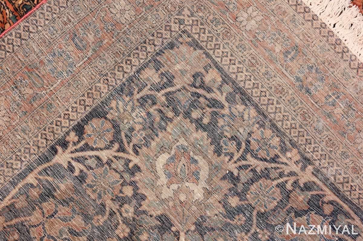 large antique persian mohtasham kashan rug 60038 knots Nazmiyal