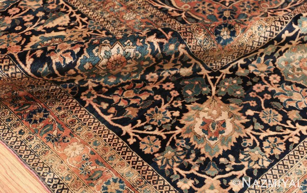 large antique persian mohtasham kashan rug 60038 pile Nazmiyal