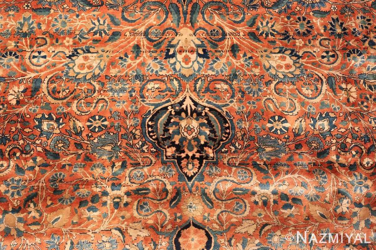 large antique persian mohtasham kashan rug 60038 tiara Nazmiyal
