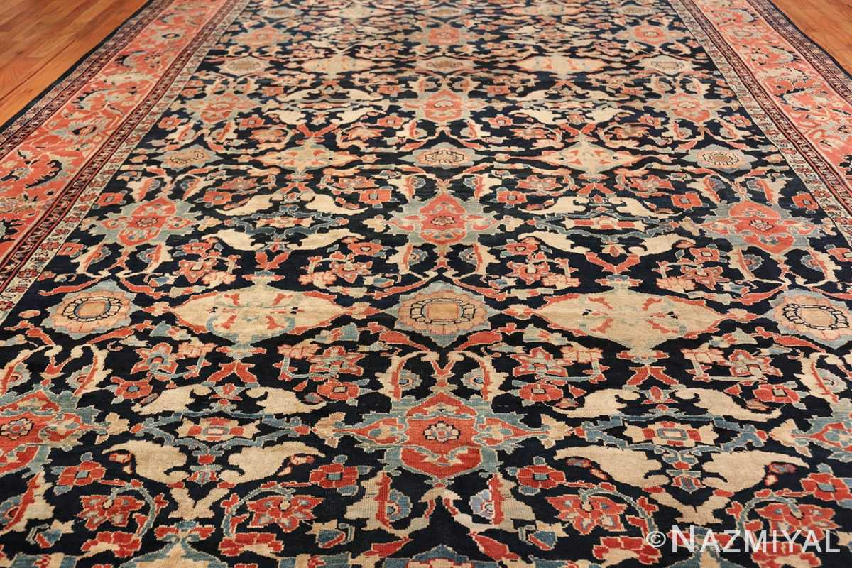 large antique sultanabad persian rug 49678 field Nazmiyal