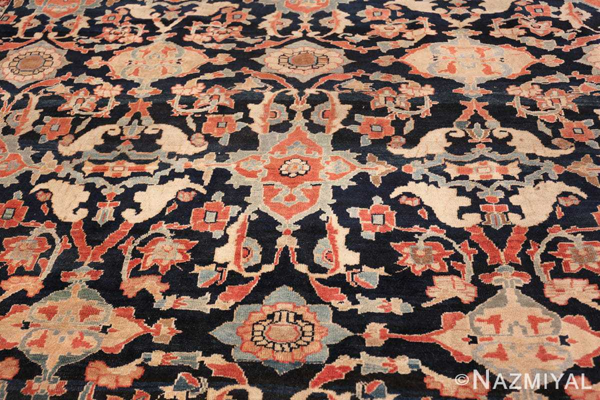 large antique sultanabad persian rug 49678 middle Nazmiyal