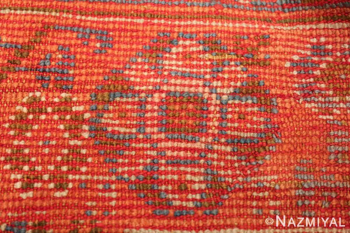 large ivory arts and crafts design antique turkish oushak rug 49672 knots Nazmiyal