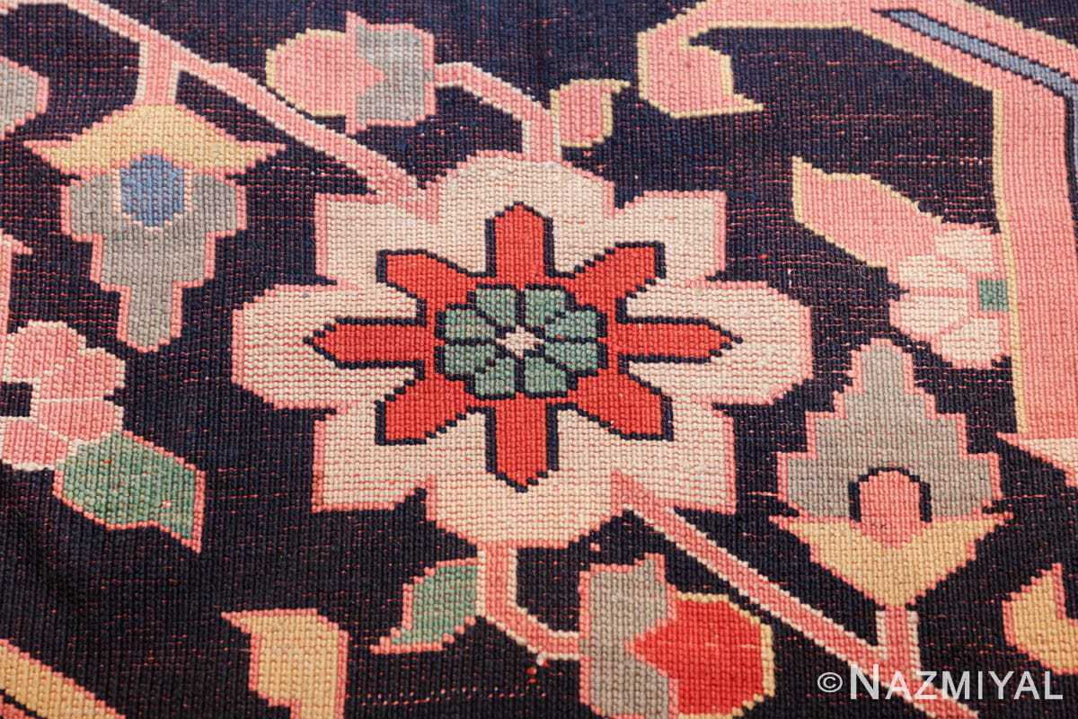 large silk vintage qum persian rug 60034 knots Nazmiyal