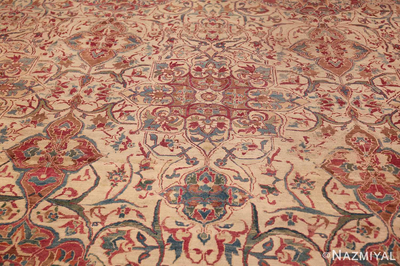 large square antique persian kerman rug 49676 center Nazmiyal