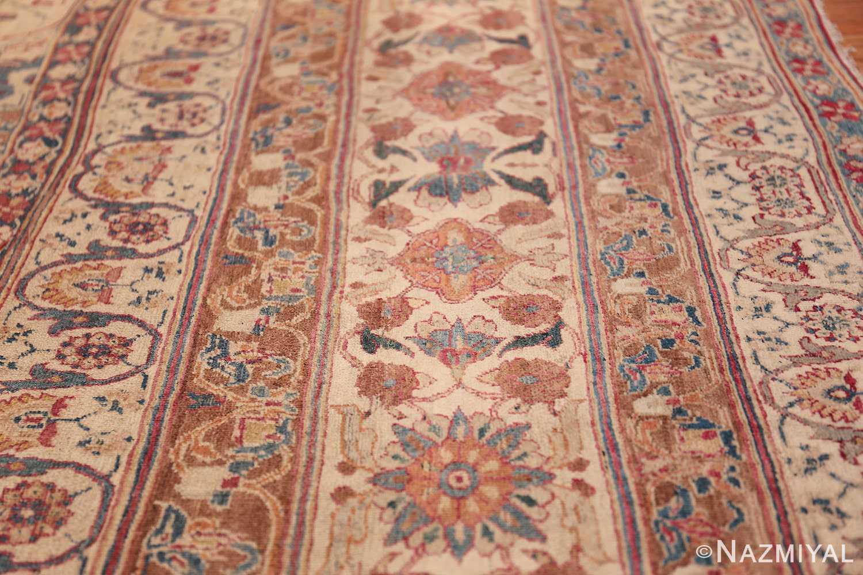 large square antique persian kerman rug 49676 lines Nazmiyal
