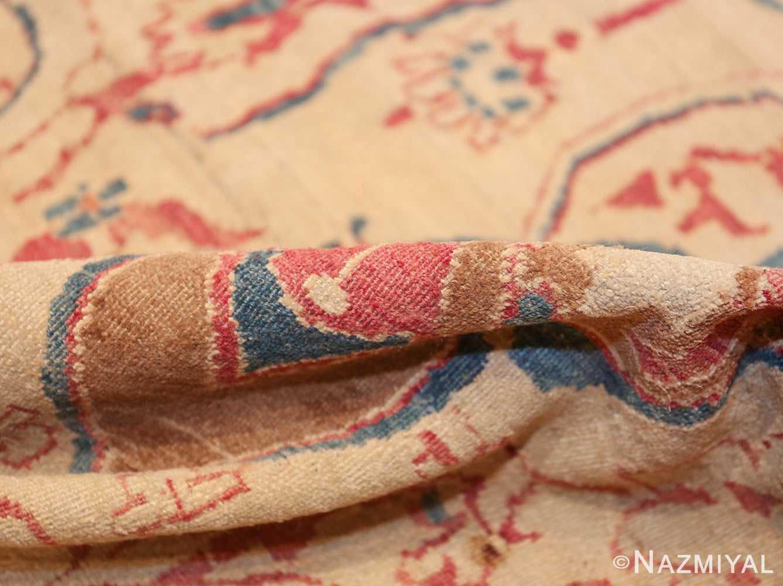 large square antique persian kerman rug 49676 pile Nazmiyal