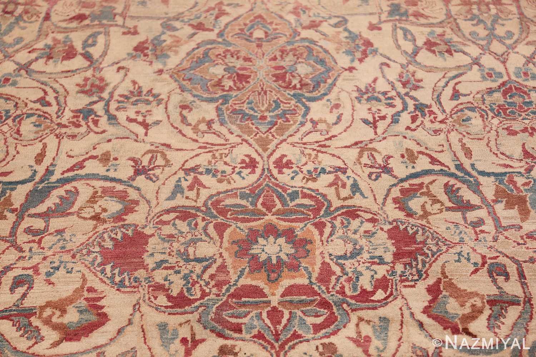 large square antique persian kerman rug 49676 tiara Nazmiyal