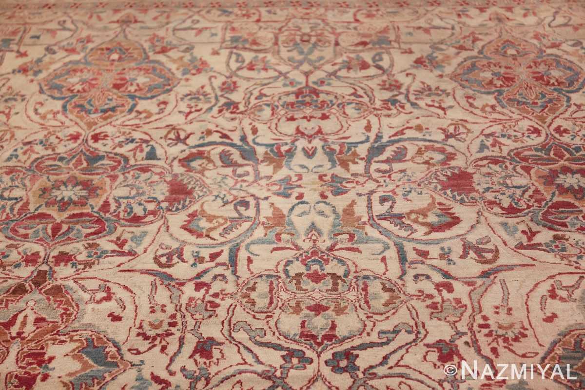 large square antique persian kerman rug 49676 top Nazmiyal