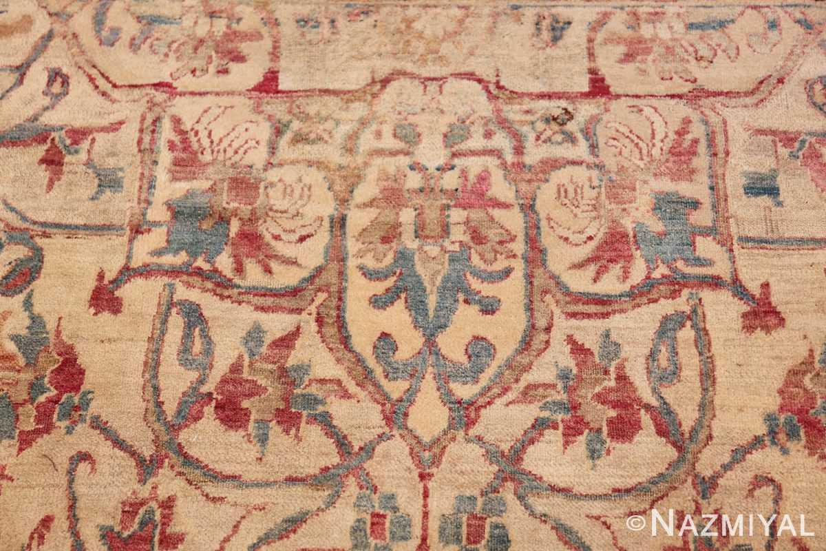 large square antique persian kerman rug 49676 trio Nazmiyal